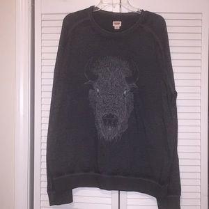Buffalo head sweatshirt - sz XL